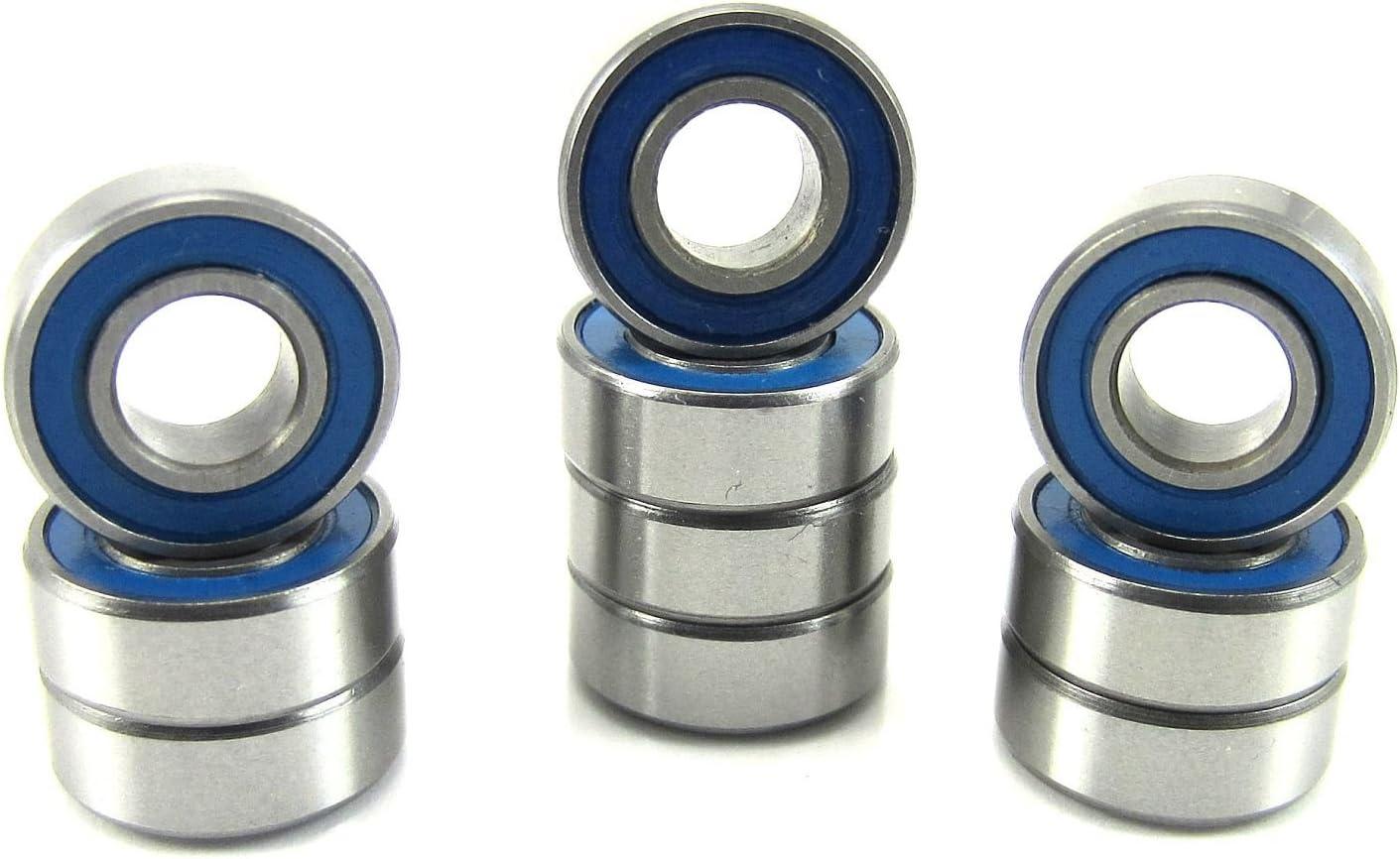 Traxxas 5116 5x11x4mm Replacement Precision Ball Bearings MR115-2RSBU (10)