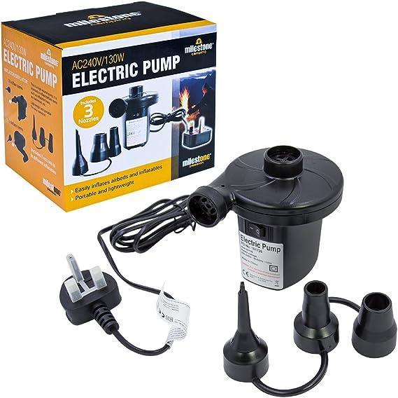 Joycoo pompe électrique rapide gonfleur Pour Matelas d/'Air Lit Gonflable Pataugeoire