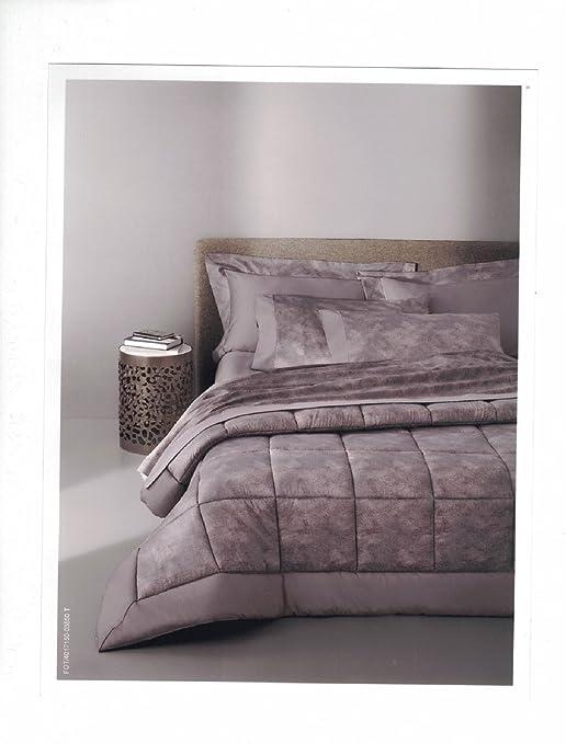 Borbonese - Edredón para cama de matrimonio y 2 cojines de ...