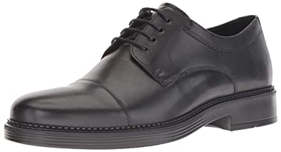 0988f128 ECCO Men's Newcastle Cap Toe Tie Oxford