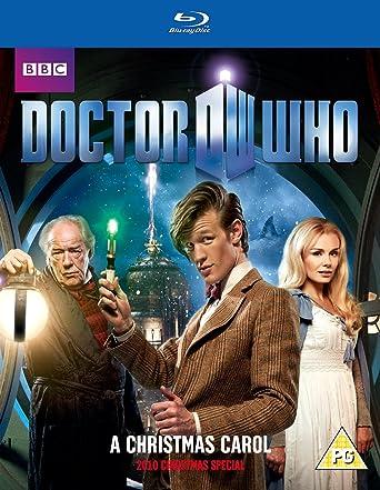 Dr Who Christmas Carol.Doctor Who A Christmas Carol Blu Ray Amazon Co Uk Matt