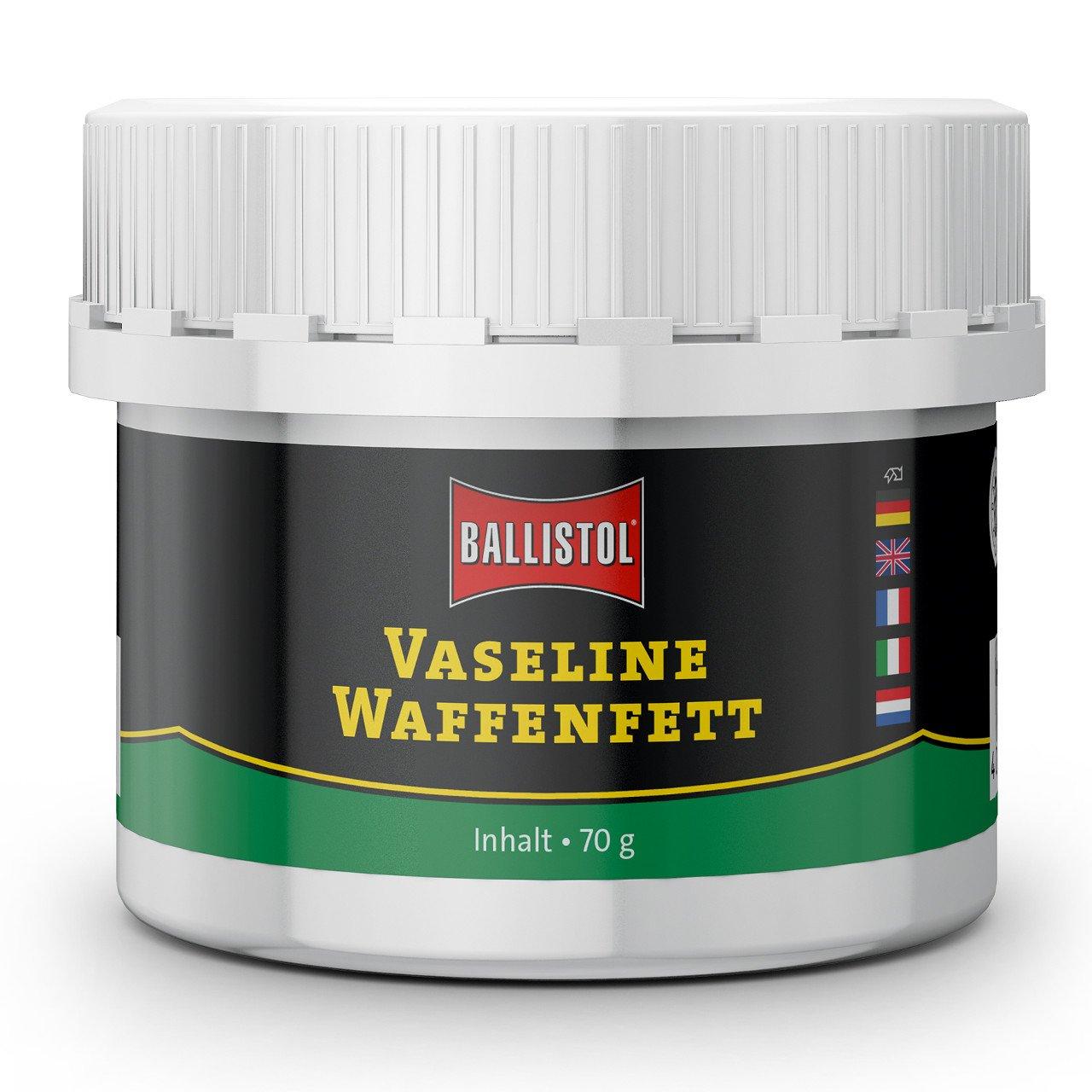 Ballistol Arma Cuidado Vaseline Arma Grasa de Larga duració n Grasa Grasa lubricante 70 g 23699