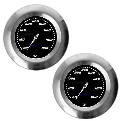 2 pieza termómetro para barbacoa/ahumador/ahumado/parrilla ...