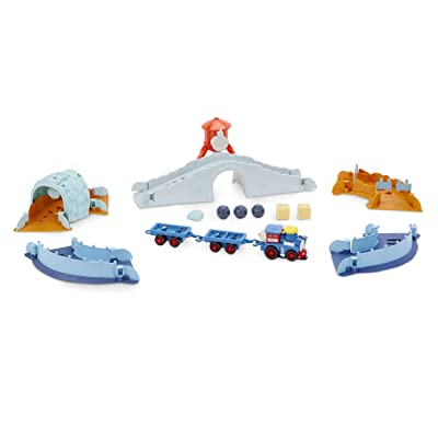 Little Tikes Slammin' Racers Runaway Railroad Set & Train with Sounds: Toys & Games