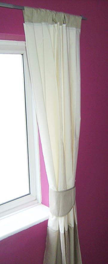 De piruletas de mm de grosor cortinas con forro opaco cm y borde de incluye cintas