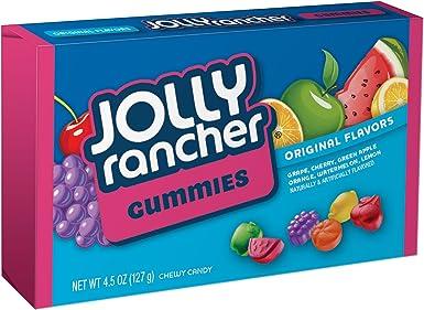 JOLLY RANCHER Gummies Candy Original Flavors, (4.5-Ounce Box, Pack of 12): Amazon.es: Alimentación y bebidas
