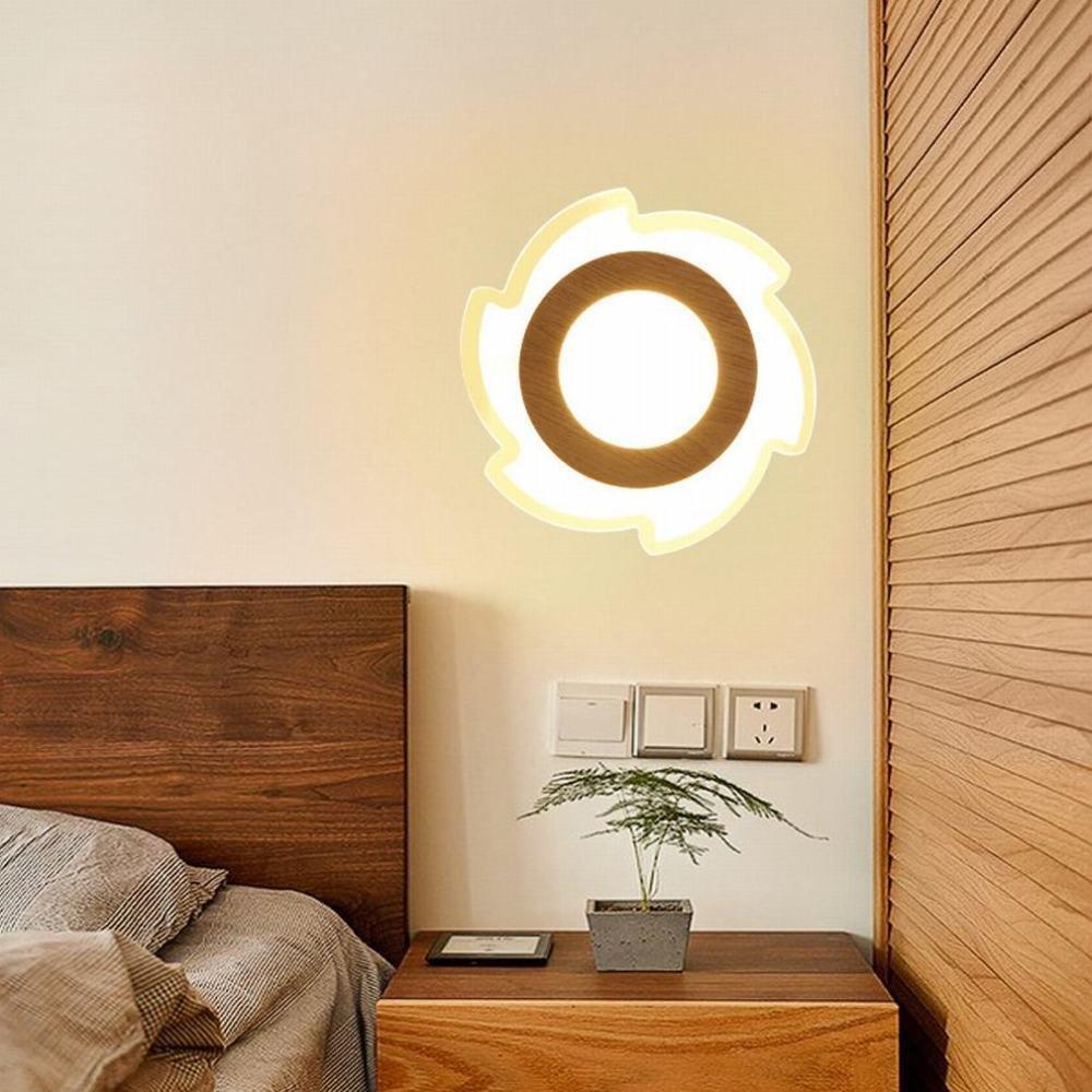 best-seller DEN Lampada Lampada Lampada da comodino moderna minimalista LED soggiorno camera da letto navata laterale,D - tre tempera,Diametro 20 cm  acquistare ora