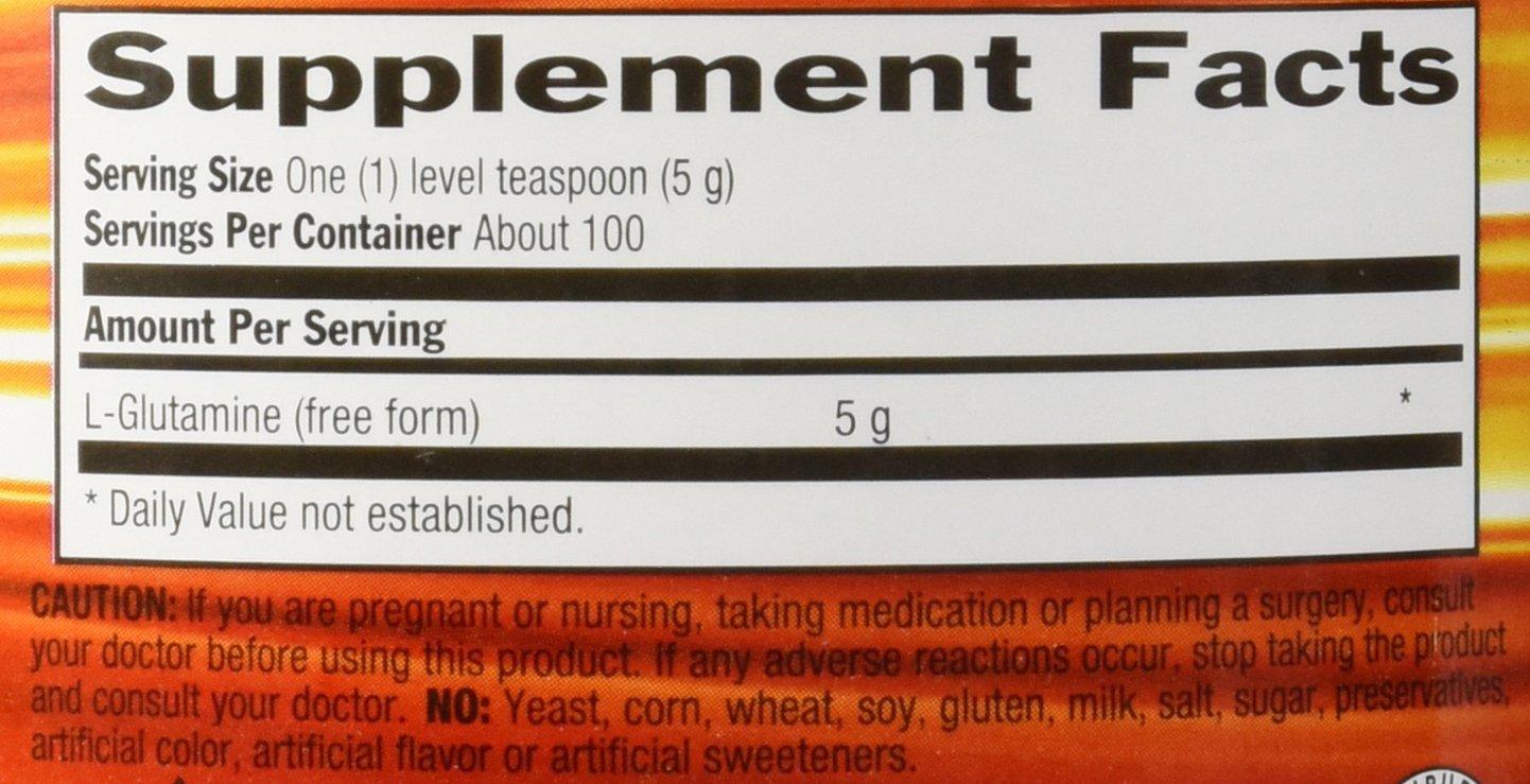 Iron Tek Essential Glutamine Powder, 1.1-Pound by Iron-Tek