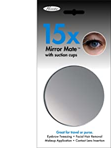 Floxite 15X Mirror Mate with Suction Cups