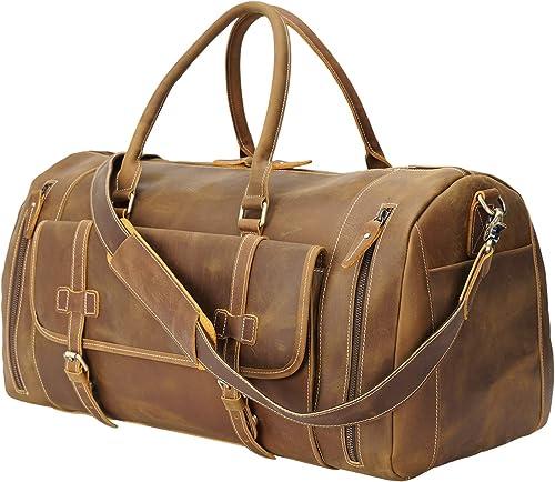 Texbo 22 Professional Italian Leather Duffle Bag