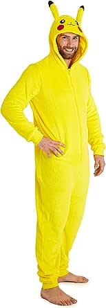Pokèmon Pijama Hombre Entero de Una Pieza, Pijama ...