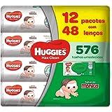 Lenços Umedecidos Huggies Max Clean, Pacote de 576 Toalhas, 12 Pacotes, Huggies