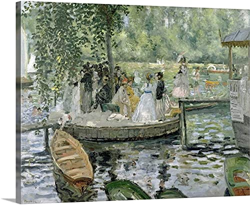 La Grenouillere Canvas Wall Art