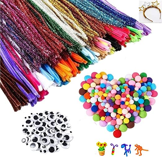 Limpiapipas para Manualidades Set,700 Pack Pipe Cleaners Crafts ...