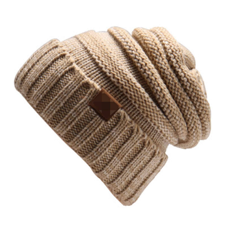 f06c782b9c1 Amazon.com  Ron Kite Winter Beanie Knitted Wool Cap Beanies Unisex Casual  Hats Men Hip-Hop Skullies Beanie Warm Hat  Clothing