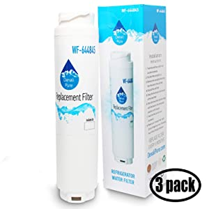 3-Pack Replacement for Bosch B22CS30SNS-01 Refrigerator Water Filter - Compatible with Bosch ULTRACLARITY, 644845 Fridge Water Filter Cartridge
