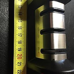 Afilador de Cuchillos con Mango Afilador Manual con Base ...