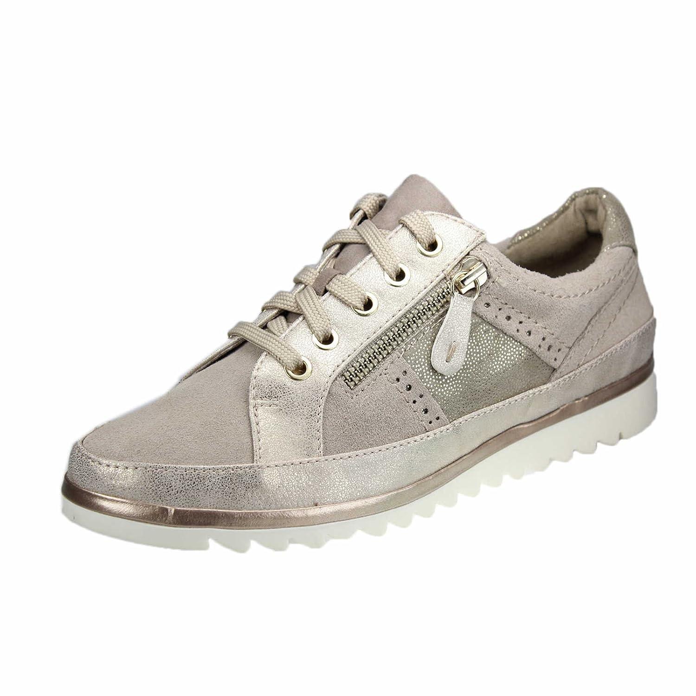 Jana 8-8-23706-20 340 - Zapatos de Cordones de Material Sintético Para Mujer 41.5 EU Beige