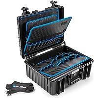 B&W gereedschapskoffer JET 6000 (extreem robuust, slagvast, stofdicht en spatwaterdicht; 510 x 419 x 215 mm) 117.18P