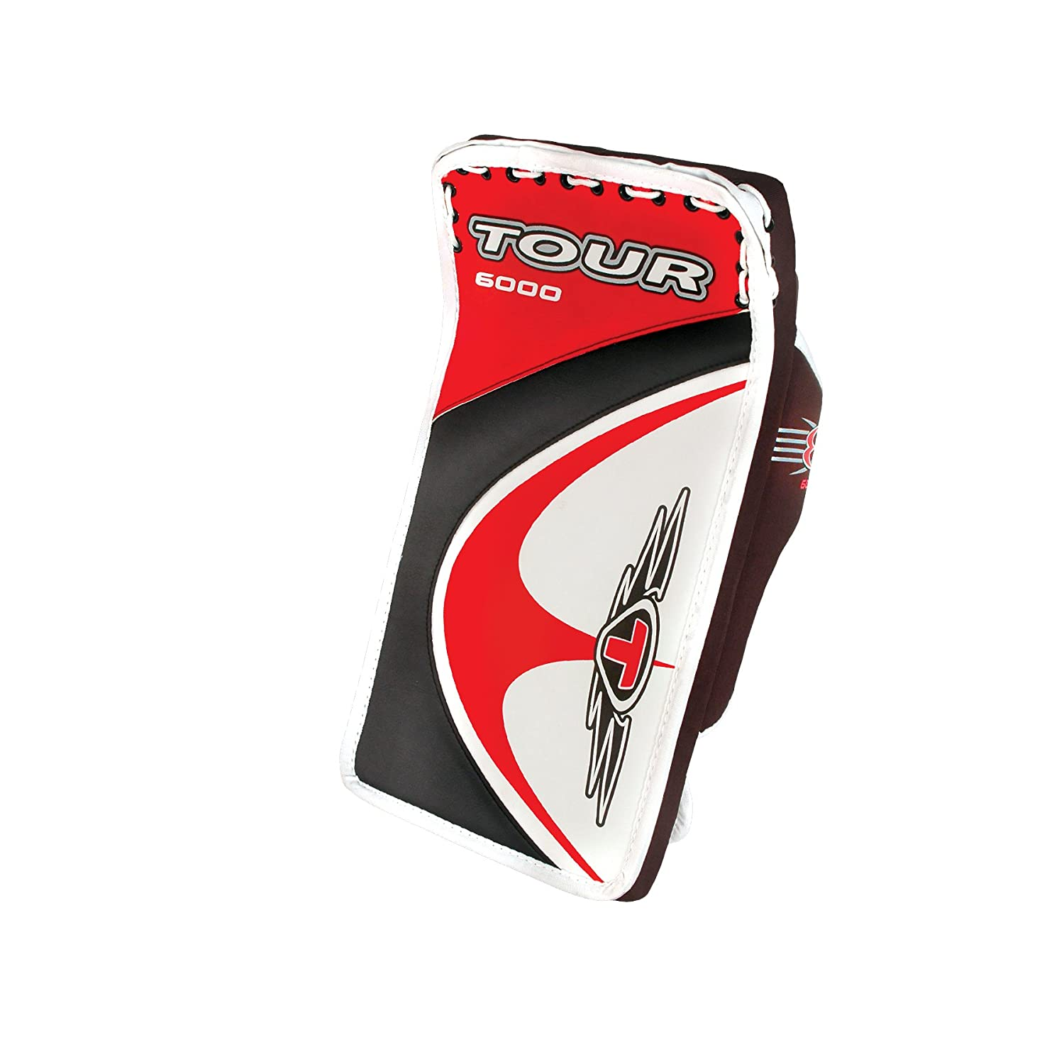 Tour Hockey Adult Evo 6000 Blocker (Red/Black)