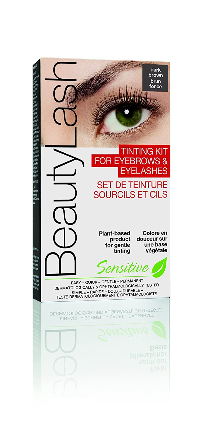 1674804a495 BeautyLash Long Lasting Home Tinting Kit for Brows and Lashes, Light Brown:  Amazon.ca: Beauty