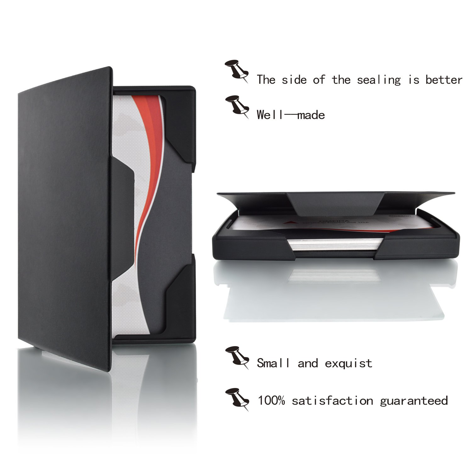 Amazon.com : MaxGear Professional Business Card Holder, Free ...