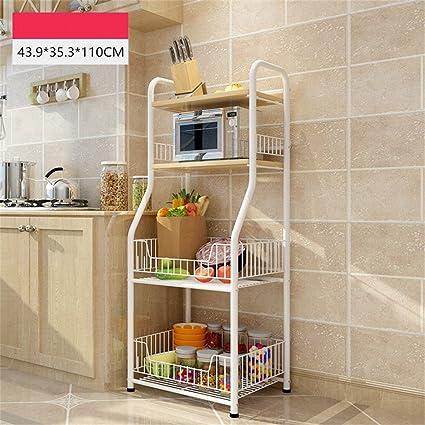 Amazon.com: WT Shelving Unit BJLWT Kitchen Shelf,Landing ...