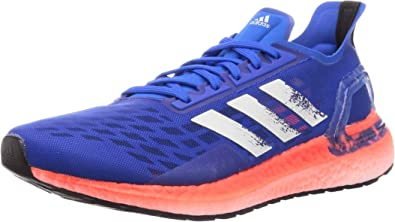 Adidas Ultraboost Pb Men Running Shoes Blue Road Running