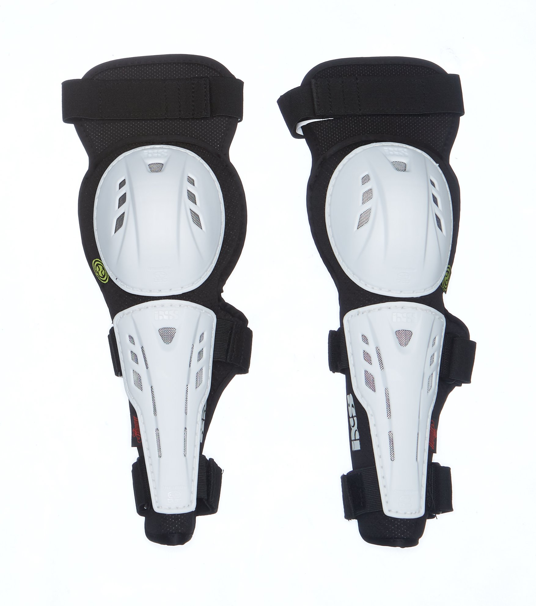 IXS Hammer-Series Elbow Guards white (Size: L) arm protector