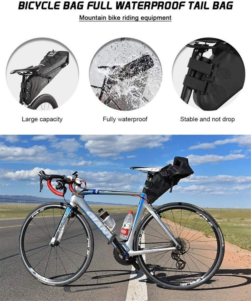 No Logo Gran Capacidad del Asiento Trasero Bolso de Viaje de Bicicletas de montaña a Caballo de Nylon Impermeable de la Cola Completa Bolso al Aire Libre el Equipo de Ciclo
