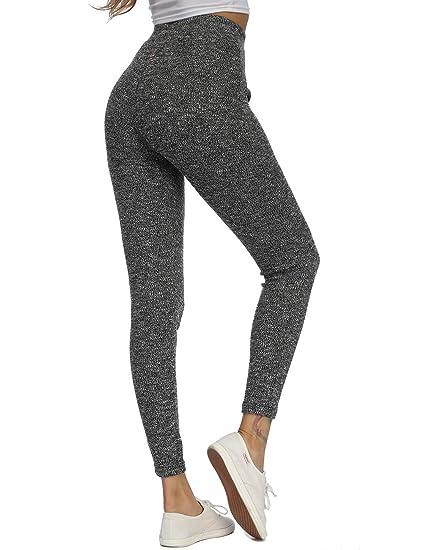be04774e5a SPORTDEER Women's Yoga Lounge Pants High Waist Sweatpants Ultra Soft for  Loungewear and Activewear, Charcoal
