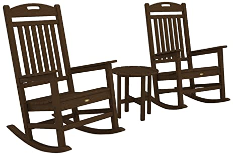 Ordinaire Trex Outdoor Furniture By Polywood 3 Piece Yacht Club Rocker Set, Tree House