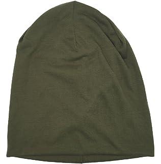 e6fb1c532bd ICSTH Unisex Sleep Hat Soft Cotton Beanie Street Dancer Cap Watch Hat
