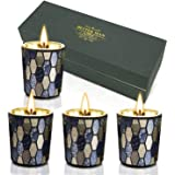 Mirrored Scented Candles Gift Set
