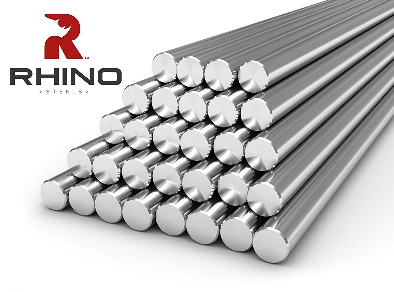 1m Bright Mild Steel EN1A Round Bar 3mm x 1000mm 1000mm - All Diameters