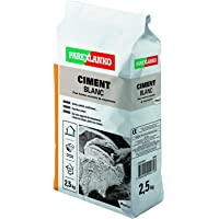 ParexGroup 2869 - Cemento (2,5 kg), color blanco