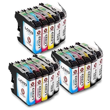 Uoopo LC223XL Compatible Cartuchos de tinta Brother LC223, Juego ...
