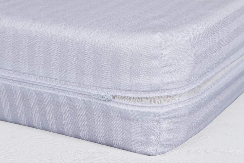 ADP Home - Funda de colchón Cutí con Cremallera L, 150x200+30 cm (para Cama de 150 cm), Blanco: Amazon.es: Juguetes y juegos
