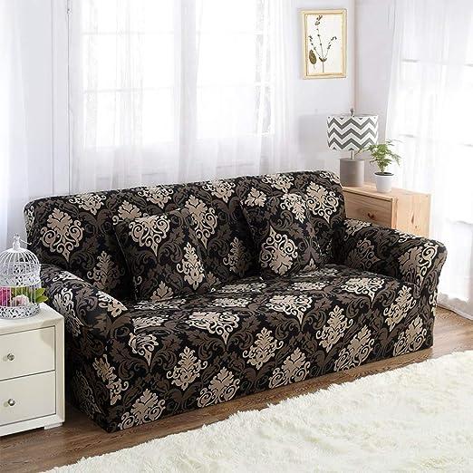 Yiwa - Funda de sofá elástica Todo en uno para Muebles de ...