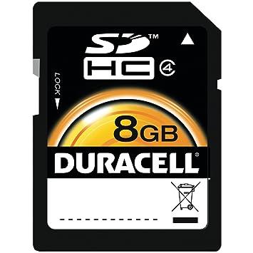 Duracell tarjeta de memoria SD de 8 GB (DU-SD-8192-R ...