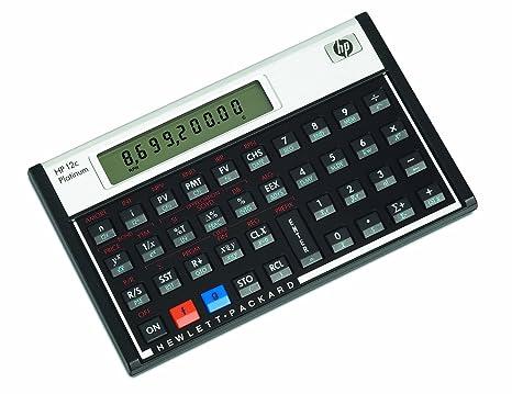 Amazon.com : HP 12CP Financial Calculator : Electronics