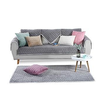 PETCUTE Fundas Sofa Chaise Longue Cubre Sofa Acolchado ...