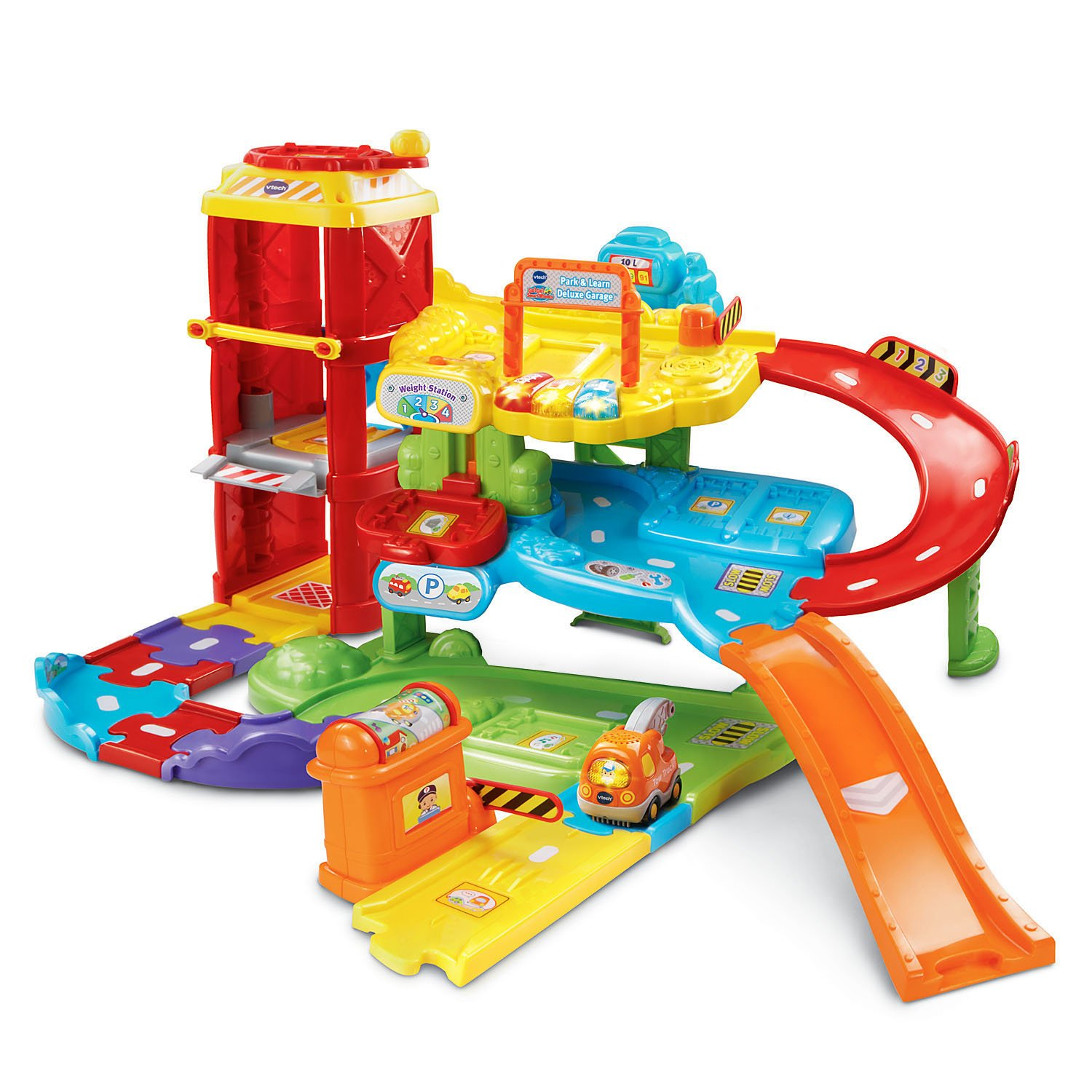Amazon VTech Go Go Smart Wheels Park and Learn Deluxe
