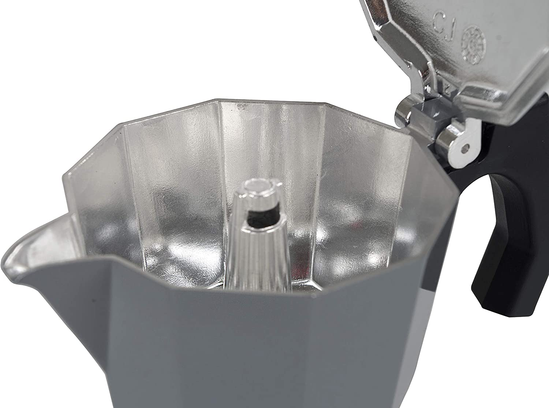 Unisex Adulto Talla /única Grijs//Zwart Bo-Camp Urban Outdoor Espresso Percolador