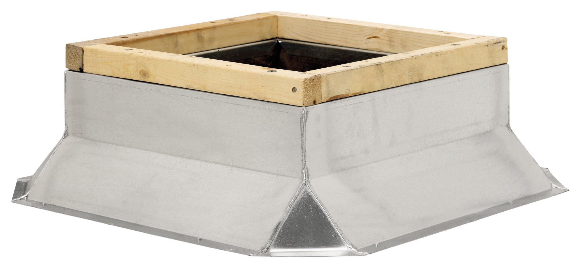 Fantech 5ACC28FS Flat Roof Curb, 28-1/2'' Square x 8'' H by Fantech (Image #2)