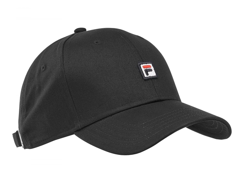 Fila Men s Baseball Cap Fht03341 001 Black  Amazon.in  Clothing    Accessories a7dc32cecf9
