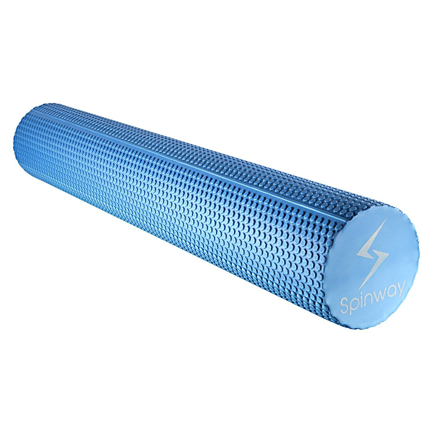 spinway Yoga Foam Roller Speckled Foam Rollers for Muscles Extra Firm High Density for Physical Therapy Exercise Deep Tissue Muscle Massage (Blue) by spinway (Image #3)