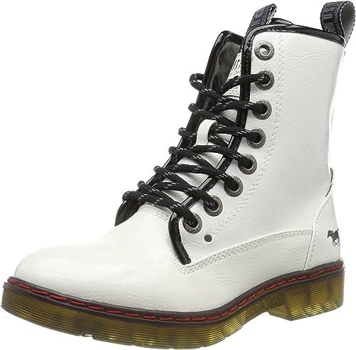 MUSTANG Damen 1235 503 1 Combat Boots: Mustang: