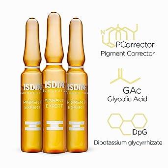 Isdin Isdinceutics Tratamiento Antimanchas Pigment Expert + Night peel | Serum Corrector Despigmentante Facial y Peeling Exfoliante de Noche Monodosis 10 + 10 x 2ml. (690015174): Amazon.es