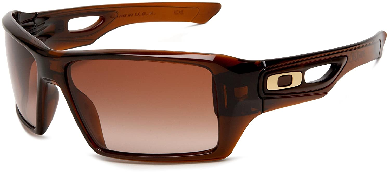 4af253248d6 Oakley Sonnenbrille Eyepatch 2 Polished Rootbeer Dark Brown Gradient  OO9136-01  Oakley  Amazon.co.uk  Clothing
